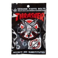 Винты INDEPENDENT Thrasher Bolts Phillips Hardware BLACK/SILVER