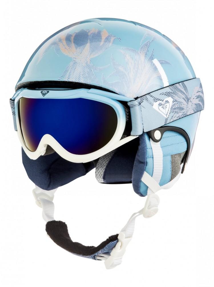 Купить Шлем д/горных лыж и сноуборда ROXY Misty Girl Pck G Powder Blue_Swell Flowers Girl, Китай