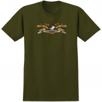 Футболка ANTI-HERO Ah S/S Eagle Military Green