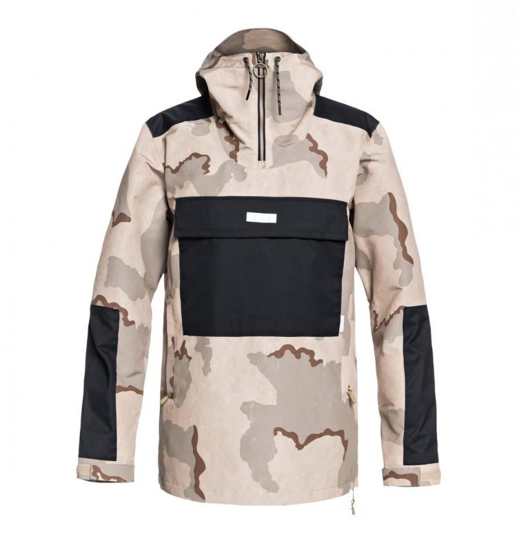Купить Куртка для сноуборда мужская DC SHOES Rampart Jkt M Incense Dcu Camo Men, Китай