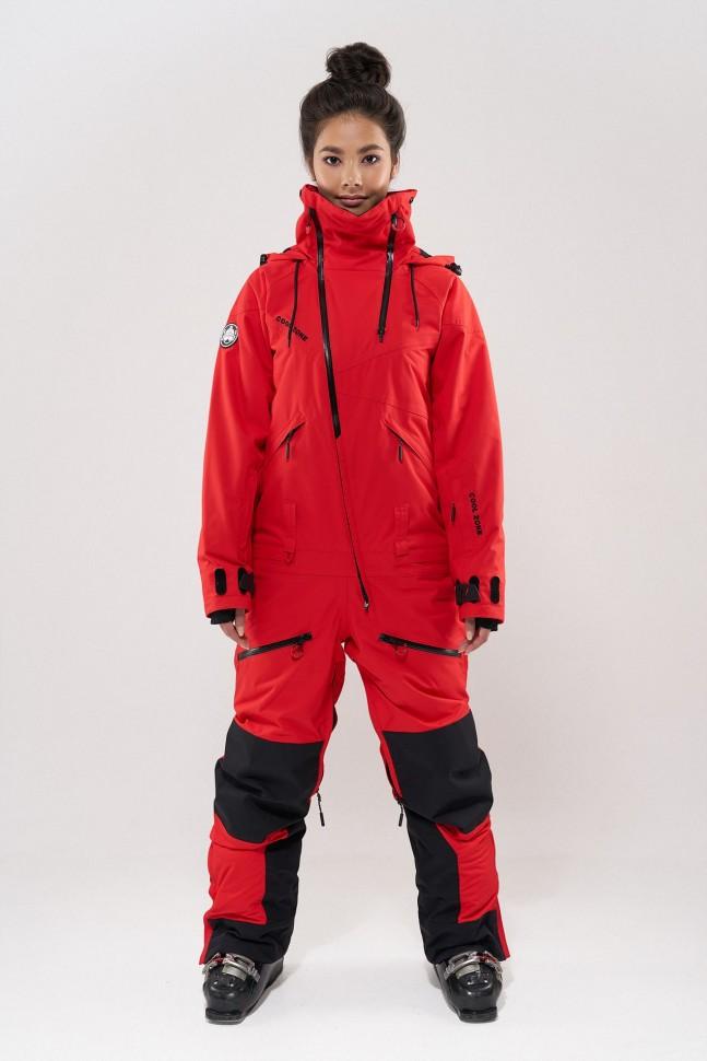 Комбинезон для сноуборда женский COOL ZONE Kite Красный фото
