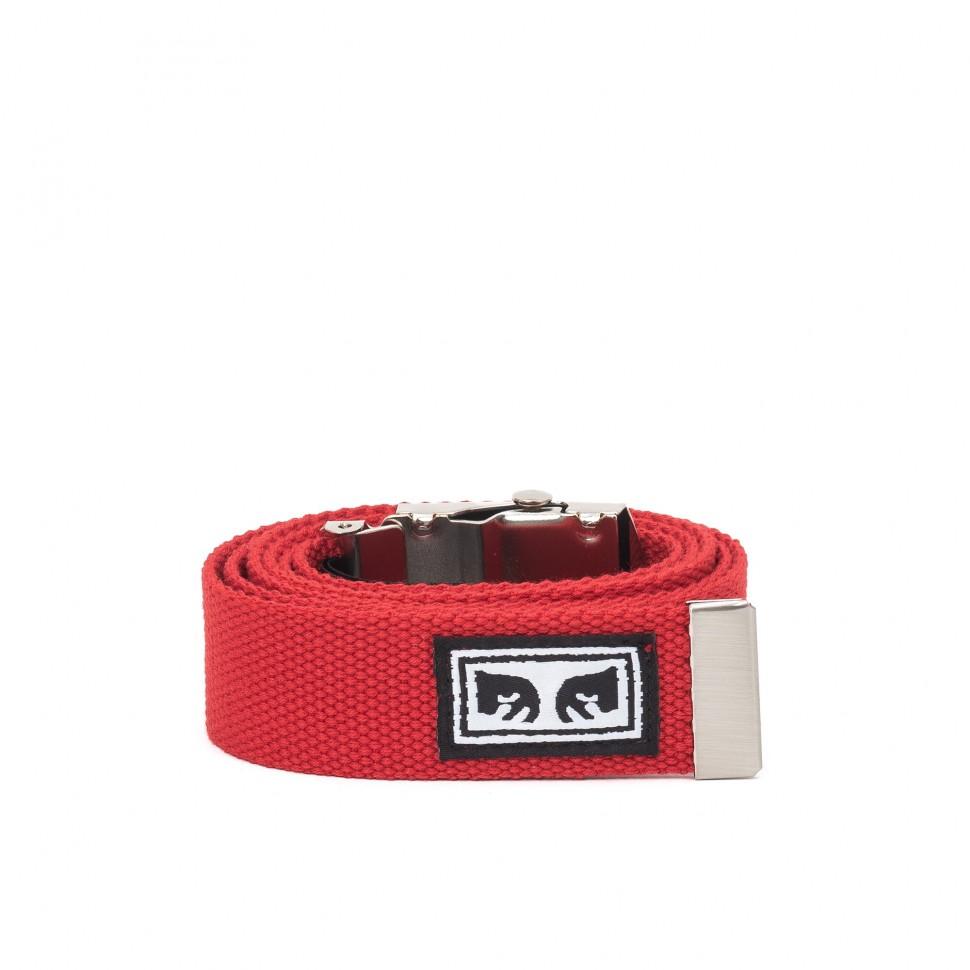 Ремень OBEY Big Boy Web Belt Scarlet 2020 фото