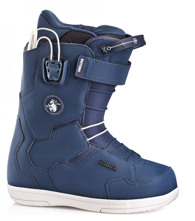 755c1c4034bc Ботинки для сноуборда женские DEELUXE Team ID Lara PF Navy — купить ...