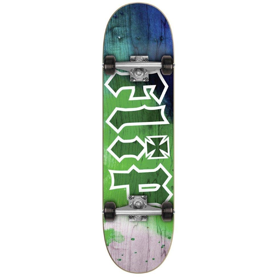 Комплект Скейтборд FLIP Hkd Complete TIE DYE GREEN 7,88