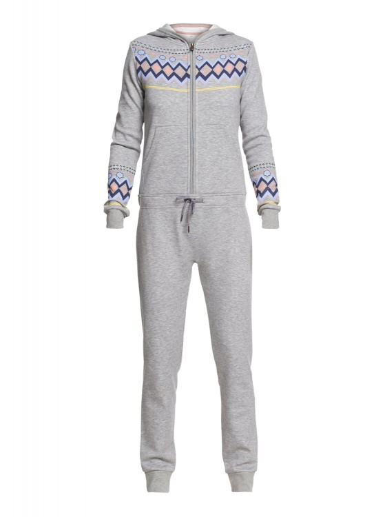 Комбинезон ROXY Warm Up Onepiec J Warm Heather Grey, фото 1