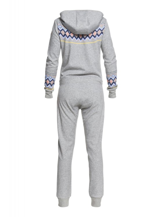 Комбинезон ROXY Warm Up Onepiec J Warm Heather Grey, фото 2
