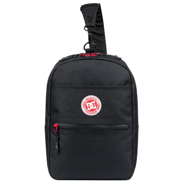 Сумка через плечо DC SHOES Fearless Sack M Mgrs Black, фото 1