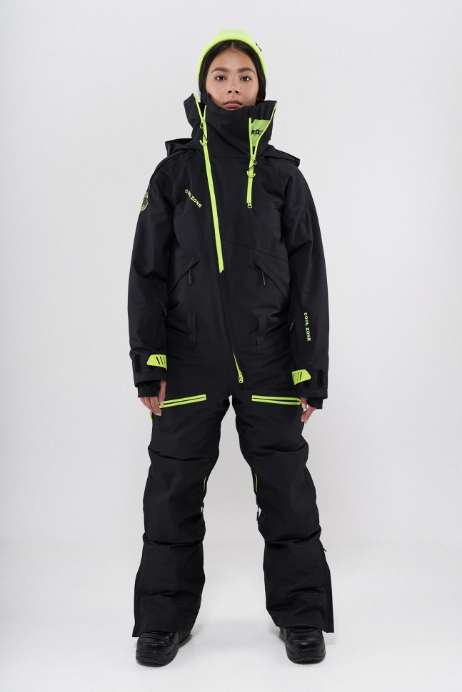 Комбинезон для сноуборда женский COOL ZONE Kite Черный фото
