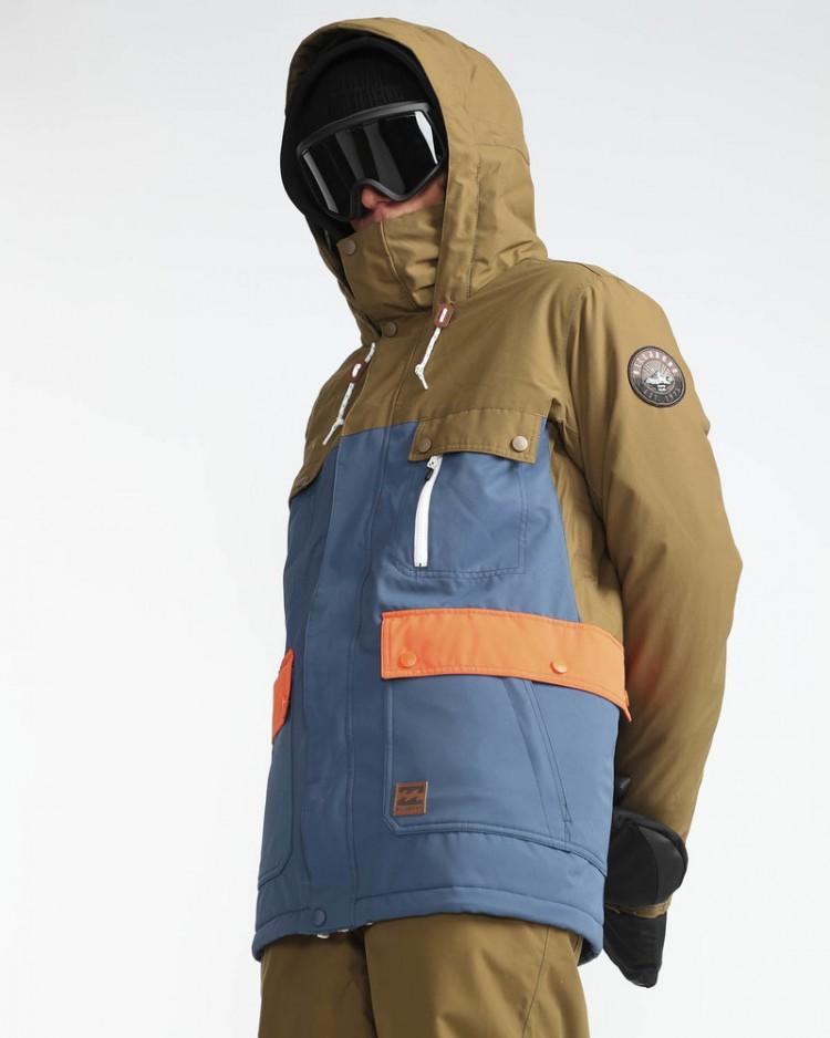 Купить Куртка сноубордическая мужская BILLABONG Craftman Dark Denim, Китай