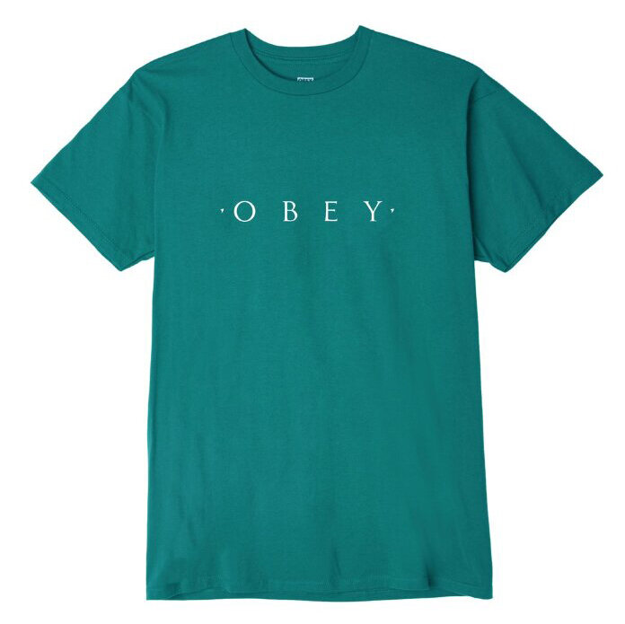 Футболка OBEY Novel Obey Teal 2020