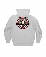 Худи мужское  Independent x Thrasher Pentagram Cross Pullover Hooded White