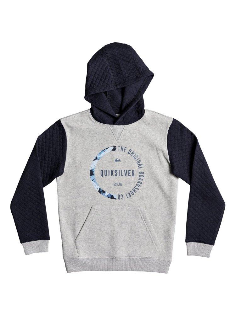 Джемпер для мальчиков-подростков QUIKSILVER Bundsyhoodyyth B Navy Blazer, Пакистан  - купить со скидкой