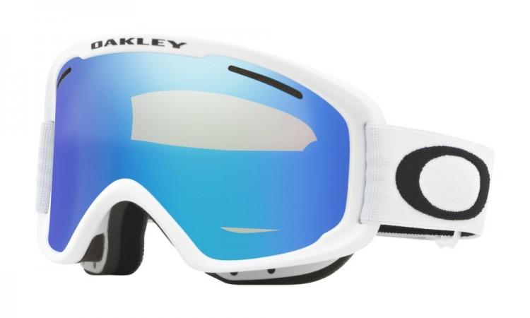 Маска горнолыжная OAKLEY O Frame 2.0 Xm MATTE WHITE/VIOLET IRIDIUM, Китай  - купить со скидкой