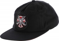Кепка Independent x Thrasher Pentagram Cross Adjustable Snapback Hat Black