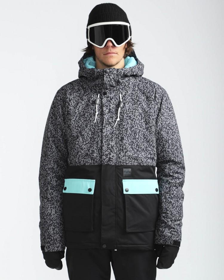 Купить Куртка сноубордическая мужская BILLABONG Fifty 50 Grey, Китай