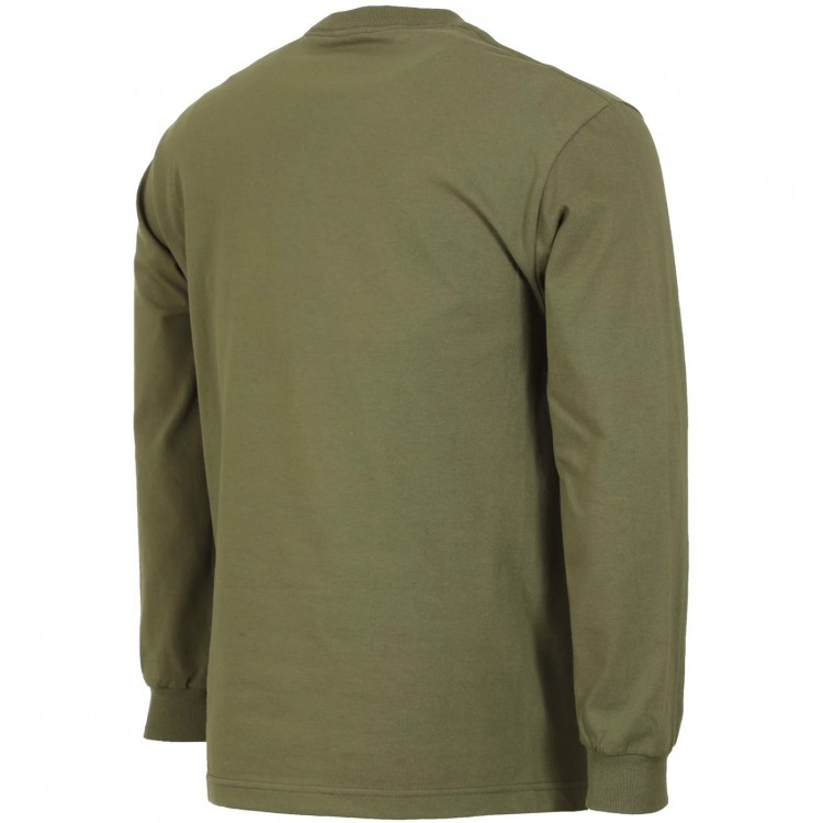 Лонгслив ANTI-HERO Ah L/S Bsc Eagle Military Green/Black, фото 2