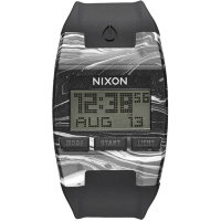 Часы NIXON Comp A/S Marbled Black/White