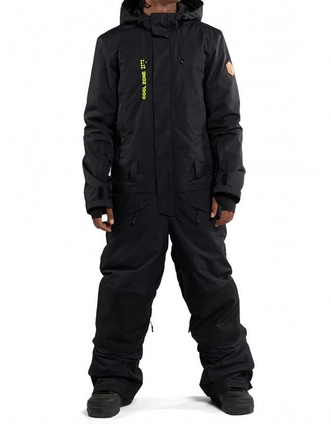 Купить Комбинезон мужской COOL ZONE Snowman Черный, Россия