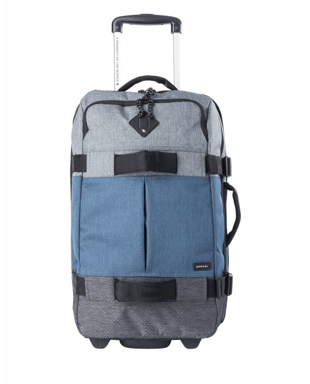 Чемодан на колесах RIP CURL F-Light Transit Stacka Blue 50L, фото 1