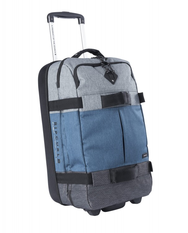 Чемодан на колесах RIP CURL F-Light Transit Stacka Blue 50L, фото 2