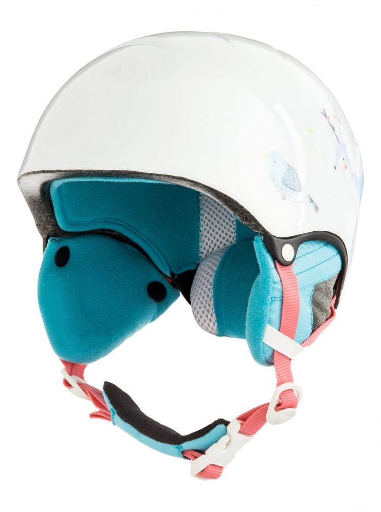 Купить Шлем д/горных лыж и сноуборда ROXY Misty Girl G Bright White_Animals Party, Китай