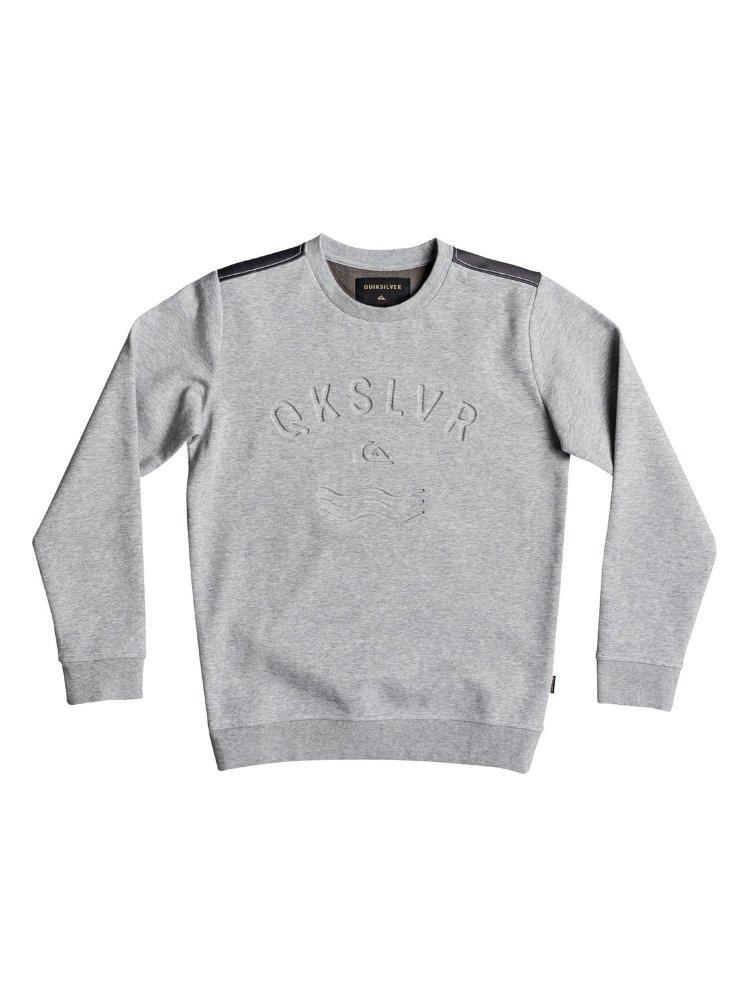 Купить Джемпер для мальчиков-подростков QUIKSILVER Dubellcrewyth B Light Grey Heather, Китай
