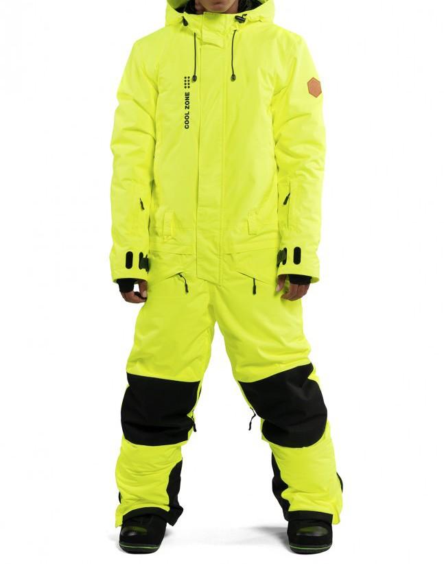 Купить Комбинезон мужской COOL ZONE Snowman Салатовый, Россия