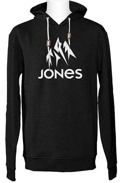 Толстовка cноубордическая JONES Truckee Zip Black фото