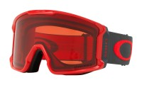 Маска горнолыжная OAKLEY Line Miner Red Forged Iron/Prizm Rose