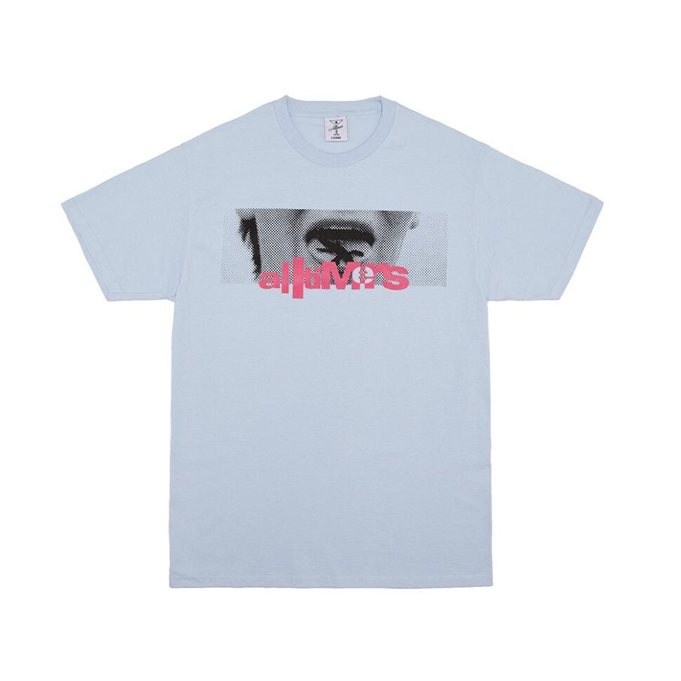 Футболка ALLTIMERS Lizzy Tongue Tee Powder Blue 2020 фото