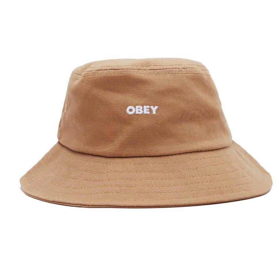 Панама OBEY Bold Bucket Hat Khaki 2021