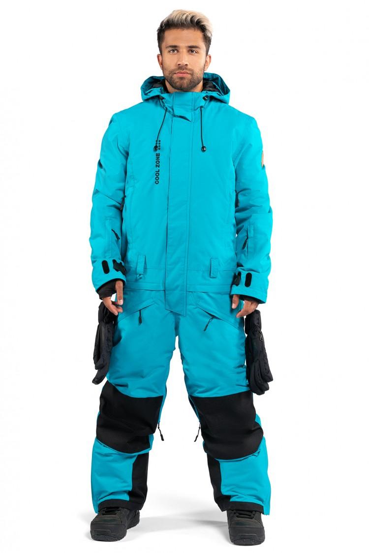 Купить Комбинезон мужской COOL ZONE Snowman Волна, Россия