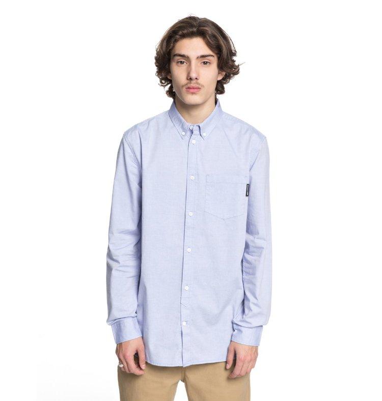 Купить Рубашка мужская DC SHOES Classic Oxford M Light Blue, Индия