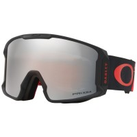 Маска горнолыжная OAKLEY Line Miner Shredbot Red Black/Prizm Black Iridium