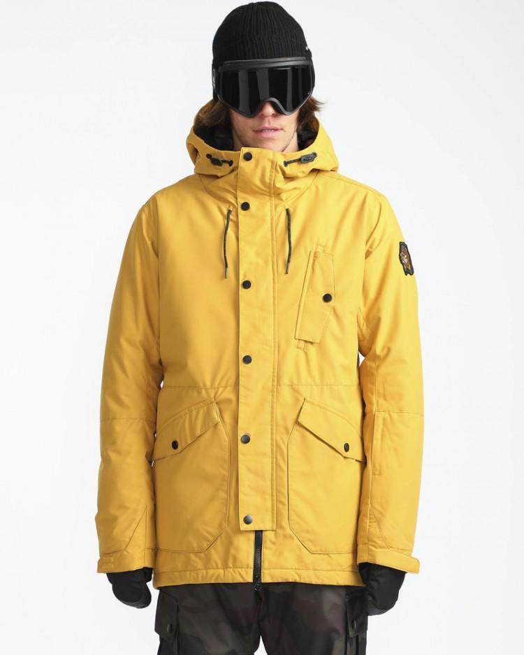 f7da4bda46b4 Куртка для сноуборда мужская BILLABONG Adversary Harvest Gold ...
