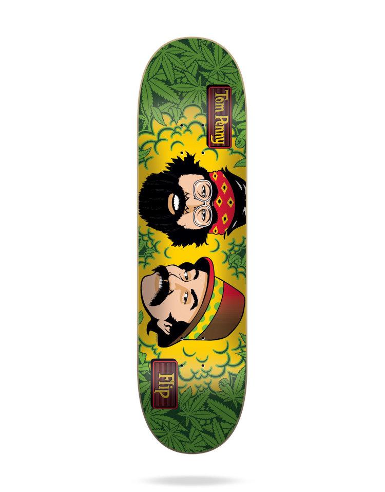 Купить Дека Для Скейтборда FLIP Tom Penny Deck CHEECH AND CHONG MARY JANE 8 , Испания