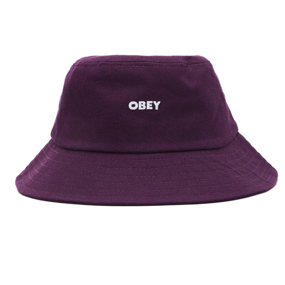 Панама OBEY Bold Bucket Hat Purple Nitro 2021