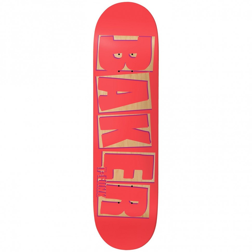 Дека для скейтборда BAKER Tf Brand Name Punch Out  8.3875 дюйм