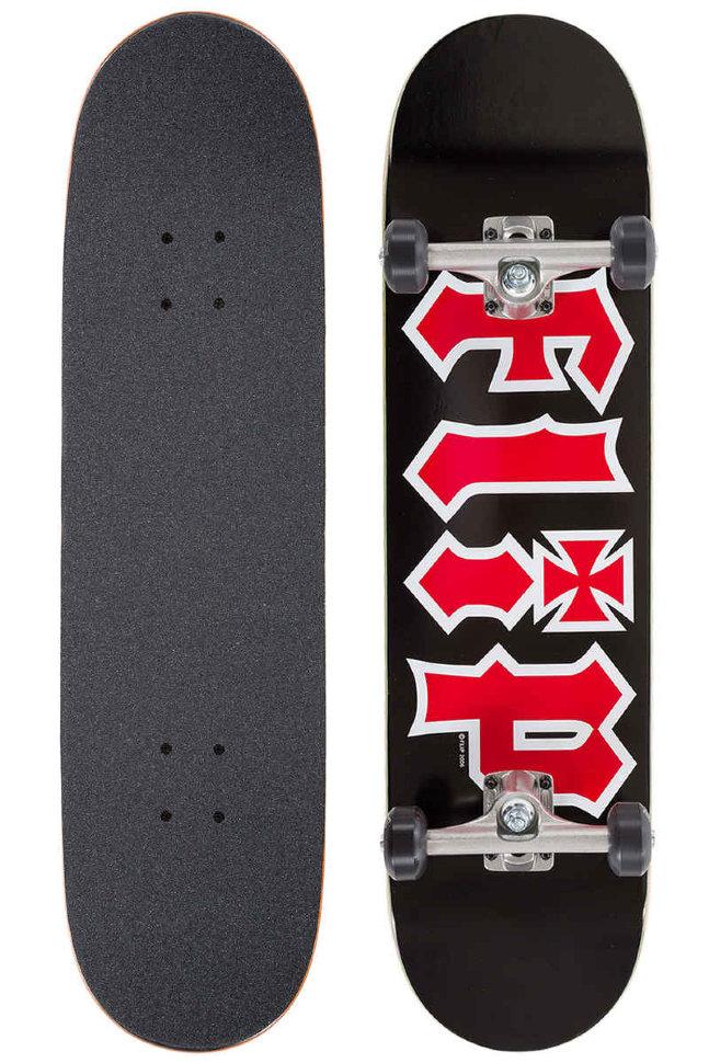 Комплект Скейтборд FLIP Hkd Complete BLACK 8