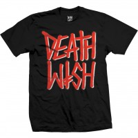 Футболка DEATHWISH Deathstack Blk/Red Tee Black/Red