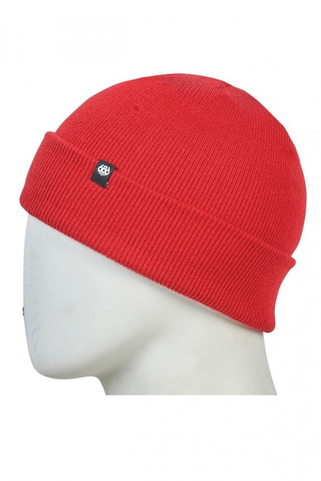Шапка 686 Standard Roll Up Beanie Red фото
