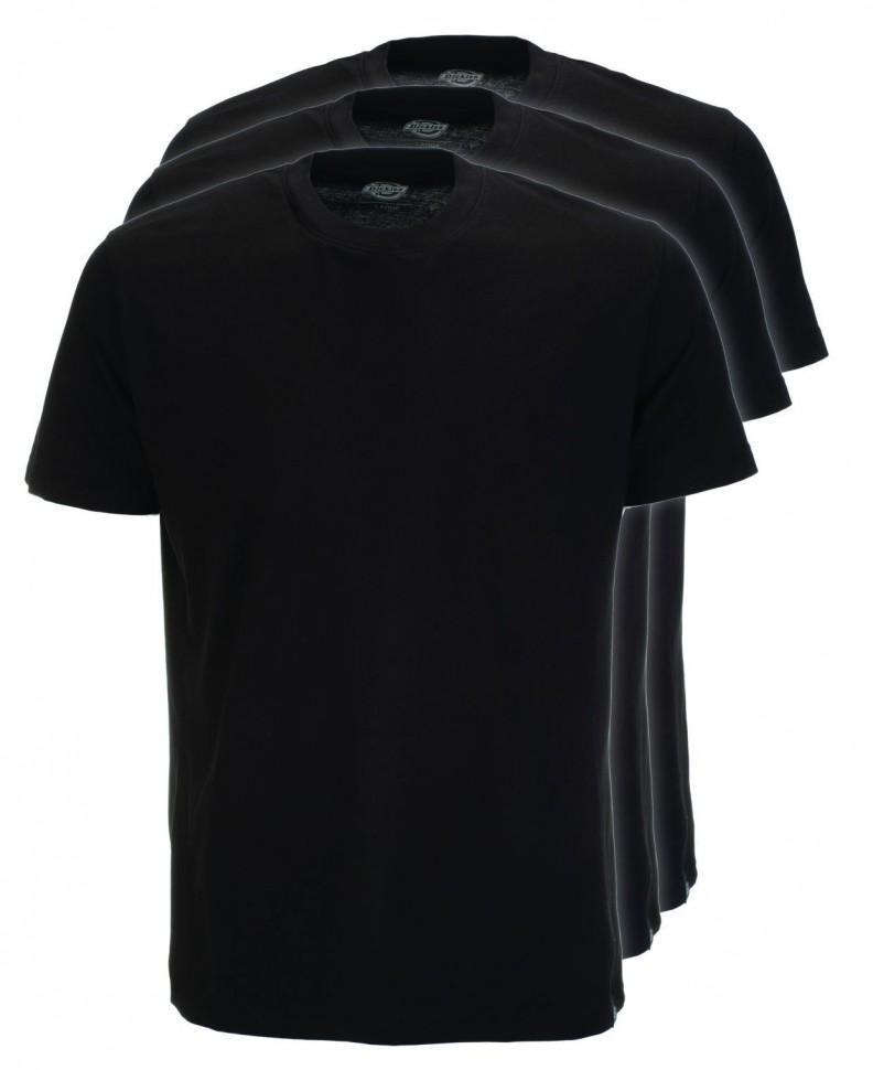 Коплект из 3х футболок DICKIES T-Shirt Pack Black