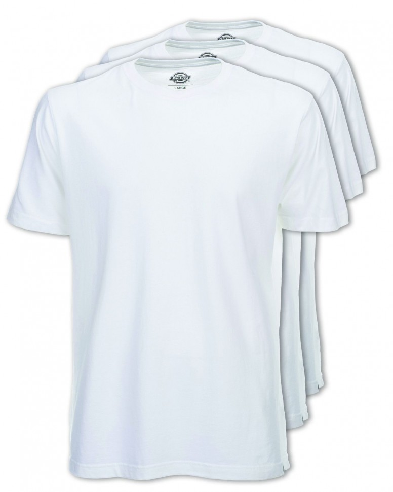 Коплект из 3х футболок DICKIES T-Shirt Pack White  фото