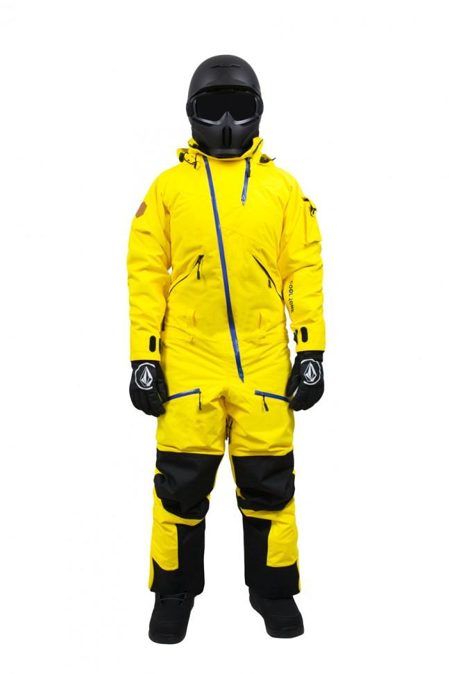 Купить со скидкой Комбинезон мужской COOL ZONE Kite One Color Желтый