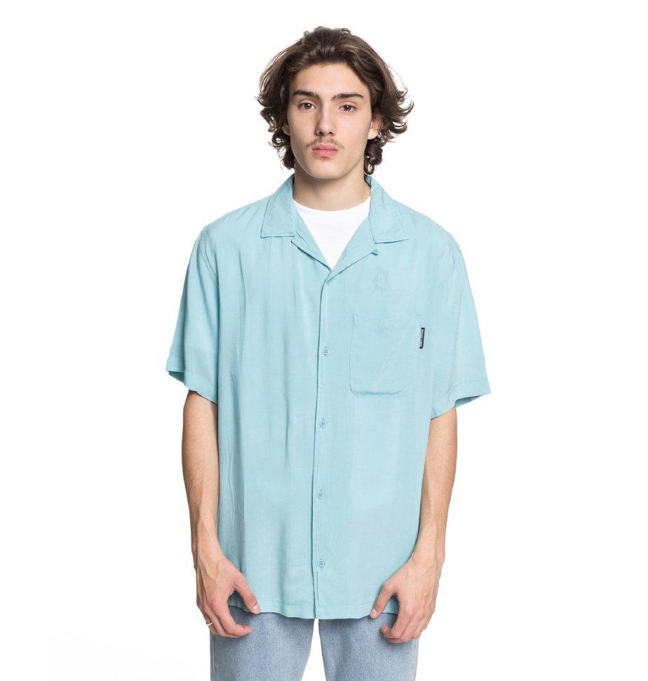 Рубашка мужская DC SHOES Whinney M Marine Blue