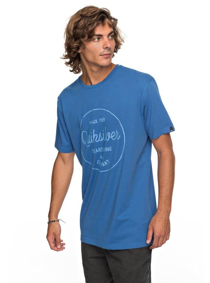 Футболка мужская QUIKSILVER Clmornslides M Bright Cobalt