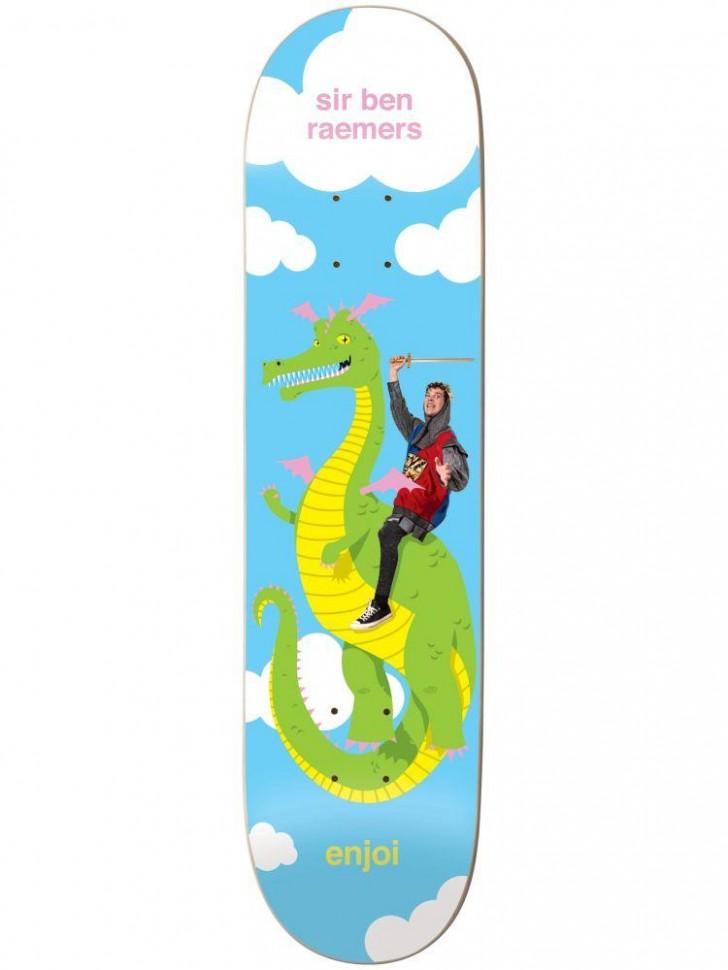 Дека для скейтборда ENJOI Giddy Up R7 Raemers 8.25