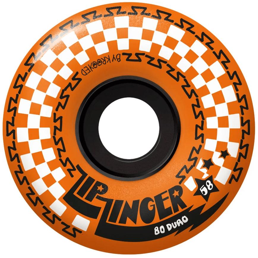 Купить со скидкой Колеса KROOKED Whl Zip Zinger Orange