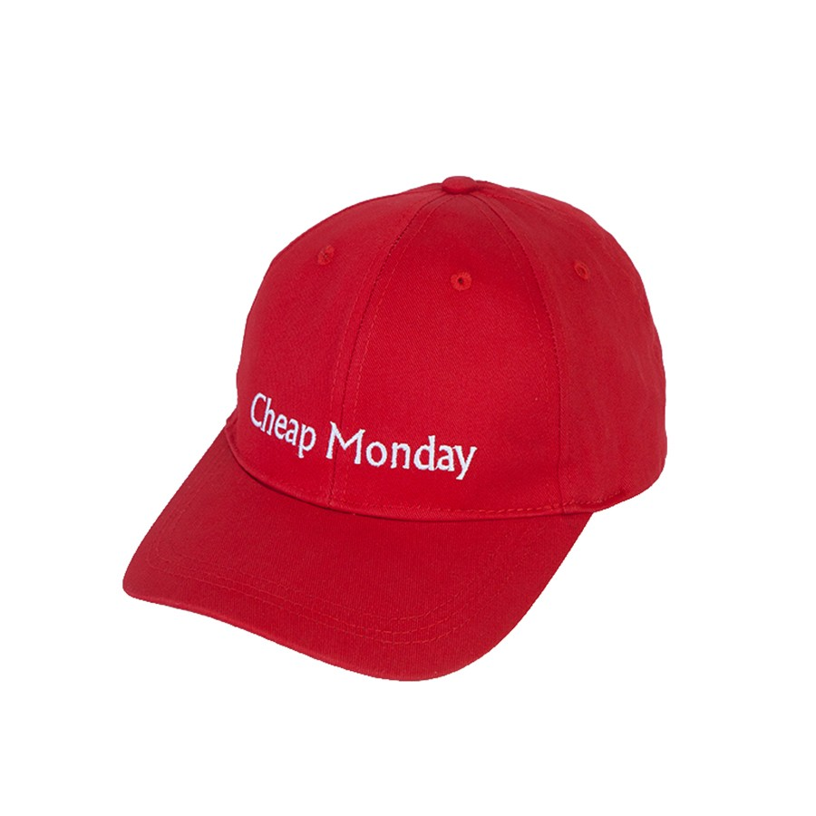 Кепка CHEAP MONDAY Cm Baseball Cap Scarlet Red фото