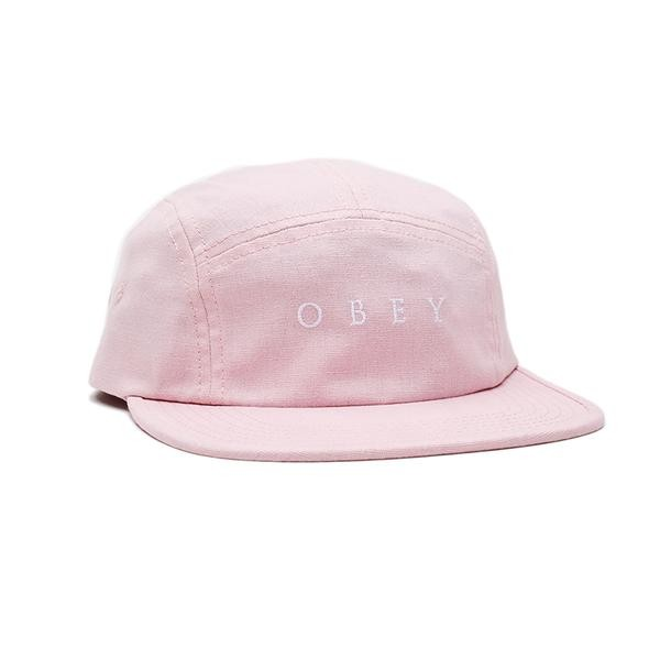 Кепка OBEY Lush 5 Panel Hat Old Rose 2020